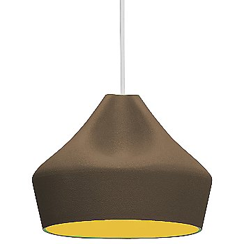 Brown shade / Gold inner shade