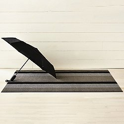 Bold Stripe Indoor/Outdoor Shag Floormat