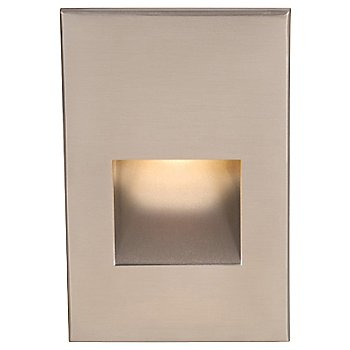 Shown in Brushed Nickel finish with White color