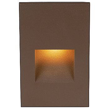 Shown in Bronze finish with Amber color