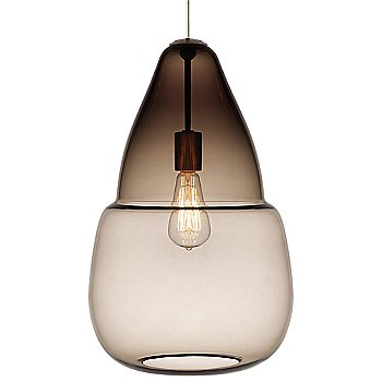 Smoke glass, Classic Edison incandescent bulb