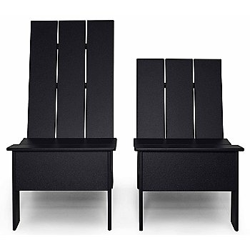 Shown in Black with High Back Chair