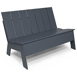 Low Back Picket Double Bench