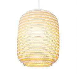 Ausi Scraplight Natural Pendant Light