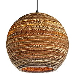 Moon Scraplight Natural Pendant Light (Large) - OPEN BOX RETURN