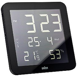 Braun Digital Wall Clock BN-C014