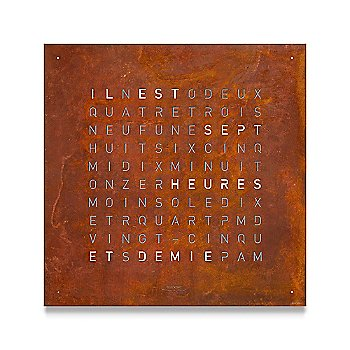 Rust color / French