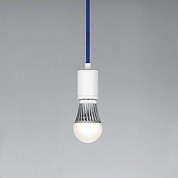 Blue cord color / White finish