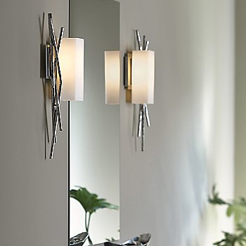 Brindille Vertical Wall Sconce, in use