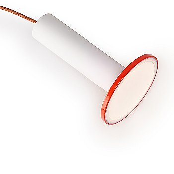 White and Tomato with Copper cord