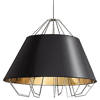 Shown in Gloss Black and Gold shade