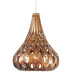 Masquerade 4 Light Teardrop Pendant Light