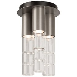 Bamboo Flush Mount Ceiling Light