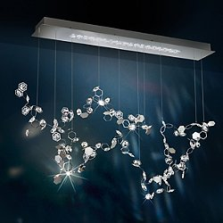 Crystalon LED Linear Pendant Light