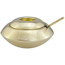 Form Sugar Dish & Spoon