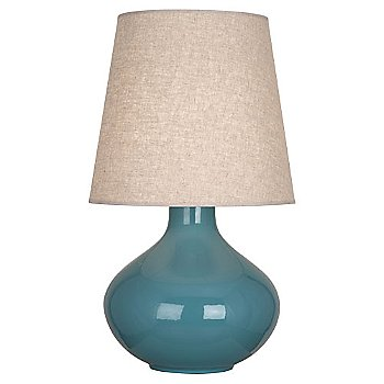 Steel Blue finish, Buff Linen shade