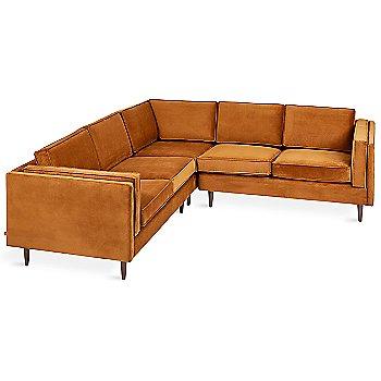 Velvet Rust fabric