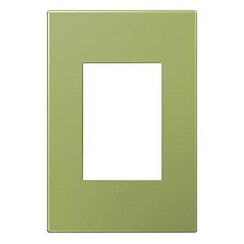 Lichen Green finish / 1-Gang 3 Module