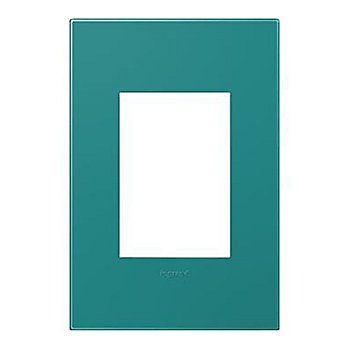 Turquoise finish / 1-Gang 3 Module
