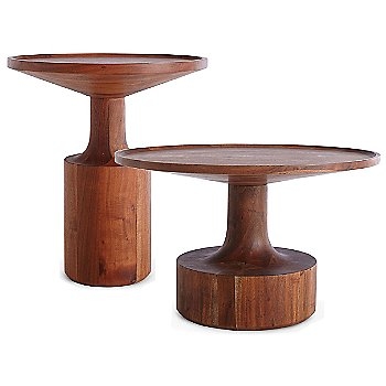 Turn Coffee Table with Turn Tall Side Table