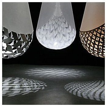 Shown in Aluminum, Polycarbonate and Bamboo (left to right)
