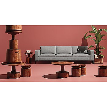 Turn Stool with Turn Low Side Table, Turn Coffee Table, Turn Tall Side Table and New Standard Sofa