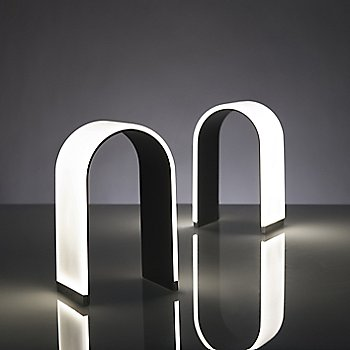 Black, alternate angles illuminated