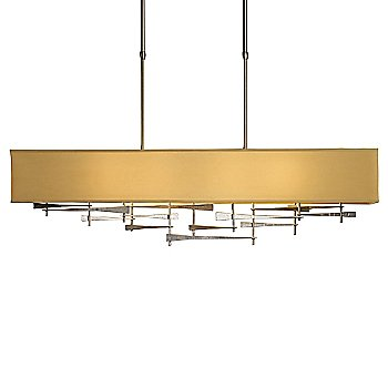 Shown in Burnished Steel finish, Eclipse Micro-Suede shade