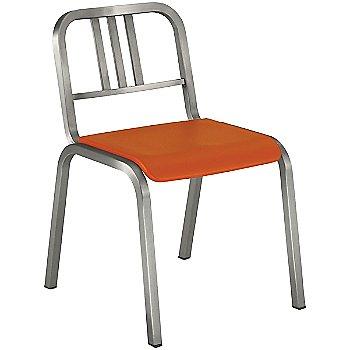 Orange / Brushed Aluminum finish