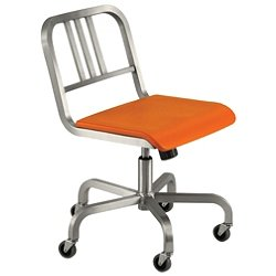 Nine-0 Swivel Chair - 3-Bar Back