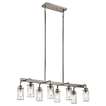 Shown in Classic Pewter finish, 8 Light
