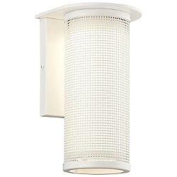 Hive Fluorescent Outdoor Wall Sconce