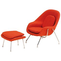 Miniature Womb Chair & Ottoman