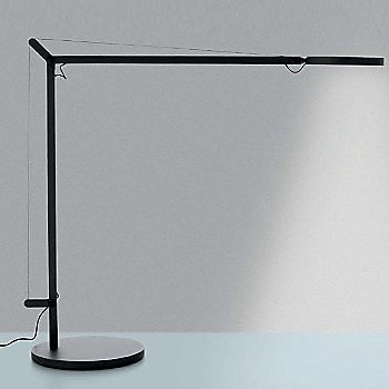Shown lit in Grey Anthracite, Table Base