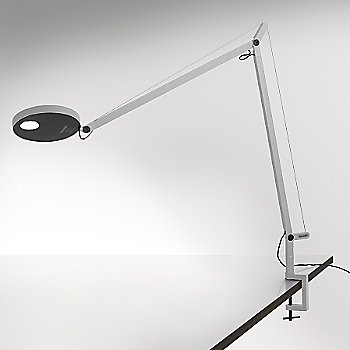 Shown lit in White, Table Clamp