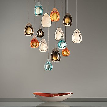 Shown with Ava Pendants