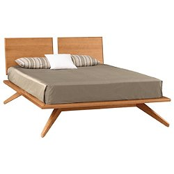 Astrid Platform Bed with 2 Adjustable Headboard Panels