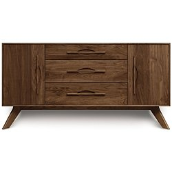 Audrey Three-Drawer Buffet with Flanked Doors