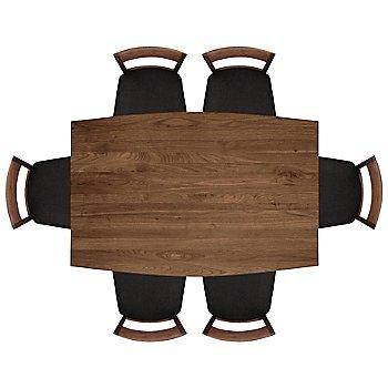 60 inch size / Natural Walnut finish