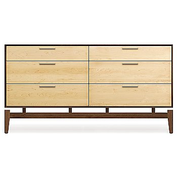 Shown in Walnut Case and Maple Drawers