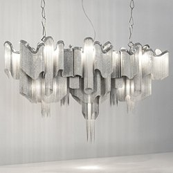Stream Long Suspension Light