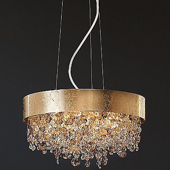 Shown in Gold Foil, Medium Size