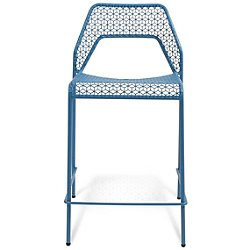 Hot Mesh Counter Stool (Simple Blue) - OPEN BOX RETURN