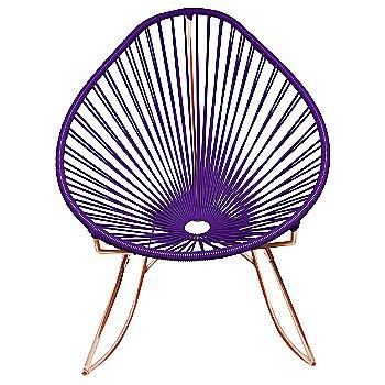 Purple / Copper frame