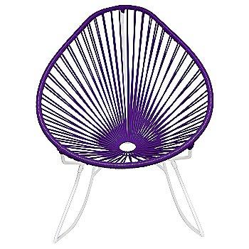Purple / White frame