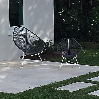 Shown with Acapulco Chair