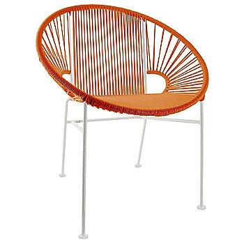 Orange / White frame