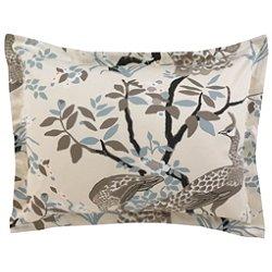 Peacock Pillow Sham Pair
