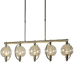 Pluto 5 Light Linear Suspension Light