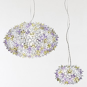 Shown in Transparent Lavender, Large and Small